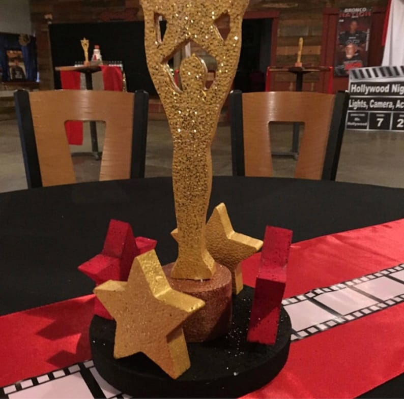 hollywood party centerpieces etsy rh etsy com hollywood party centerpieces hollywood party centerpieces