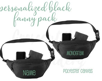 Monogram Initial Bachelorette Party Colors Customized to Anything You Want Waist Bag Vegas Disney Fanny Pack Vacation Reunions