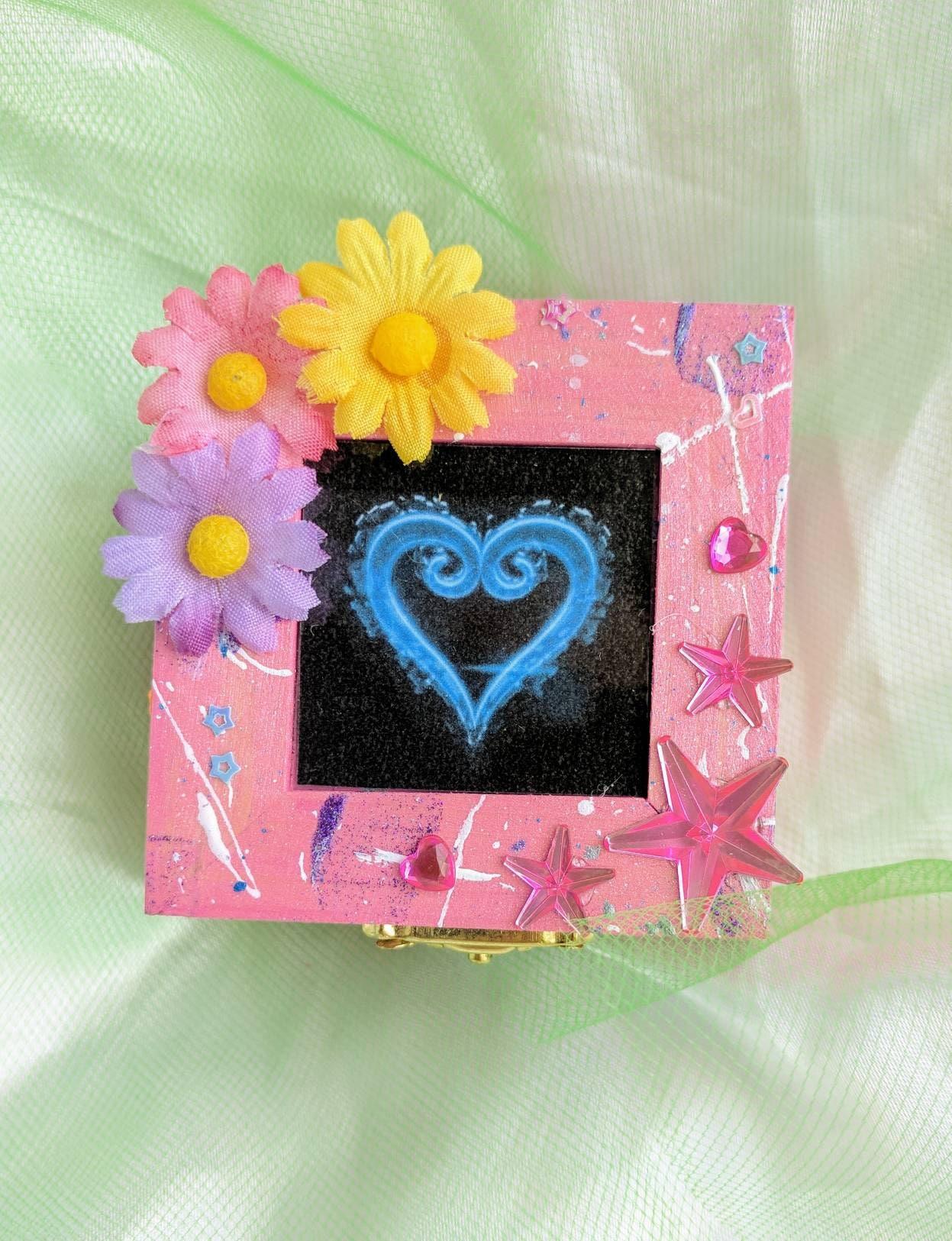 Kingdom Hearts Kairi and Sora inspired engagement ring box