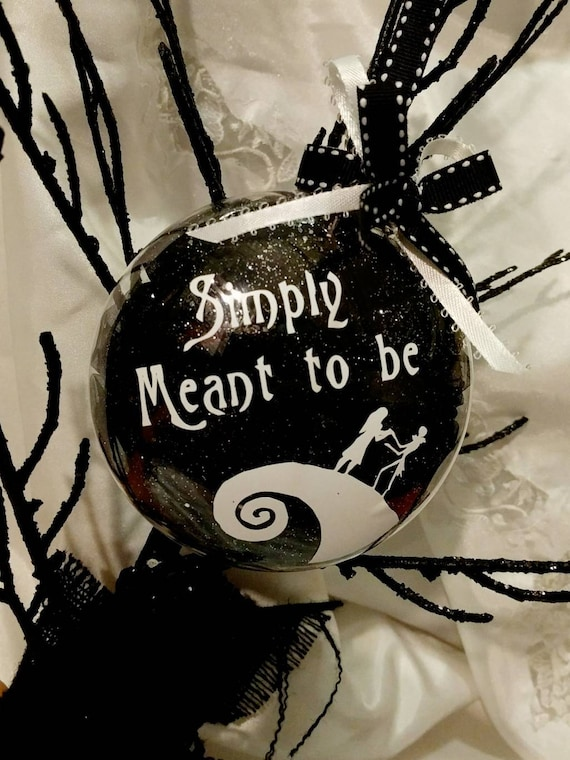 image 0 - Tim Burtons Nightmare Before Christmas Inspired Jack & Sally Etsy