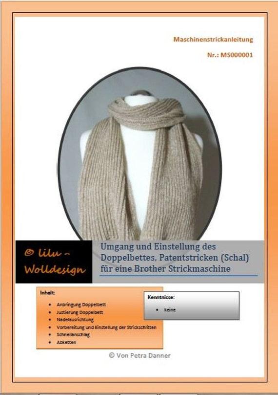 Ähnliche Artikel wie PDF Anleitung Strickmaschine DB justieren ...