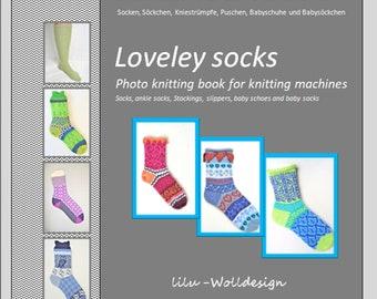 "Knitting Machine Book ""Sock Love"""