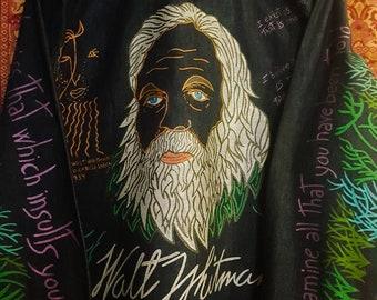 Nudie suit style. Walt Whitman shirt