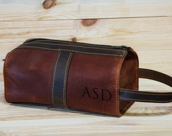 Personalized Leather Cosmetic Bag f93b6d61afd55