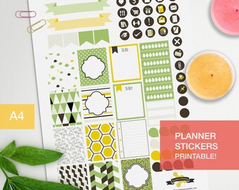 Planner stickers for decorating your journal