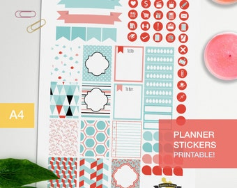 Planner stickers to decorate your journal