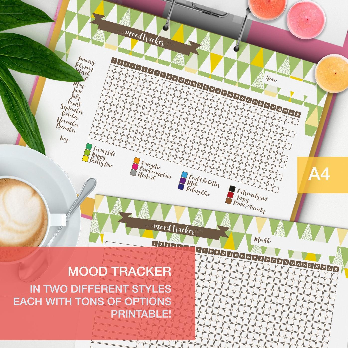 Mood Tracker Printable