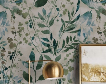 Peel And Stick Wallpaper Etsy