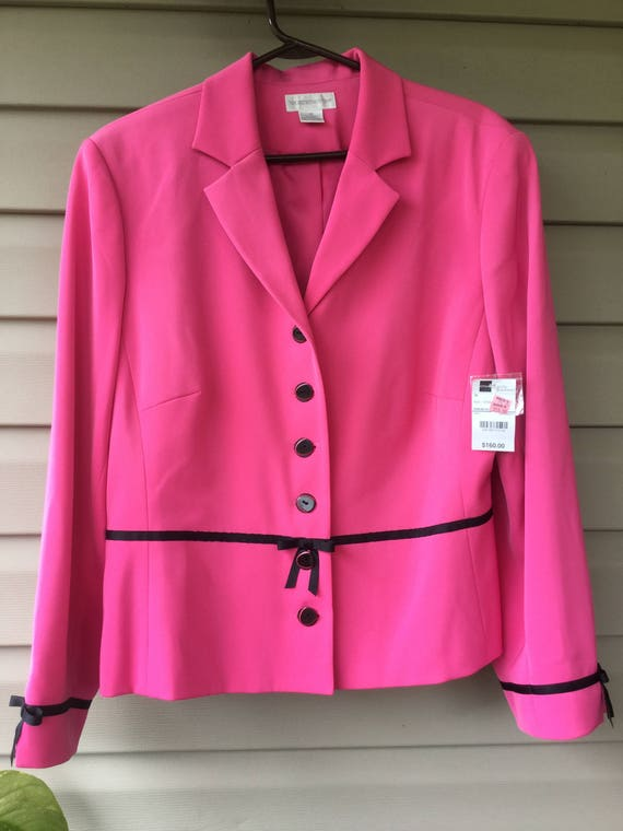 Vintage Clothing, Blazer, Ladies, Pretty Pink and