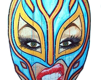 Lucha Libre Lady, mexican wrestling
