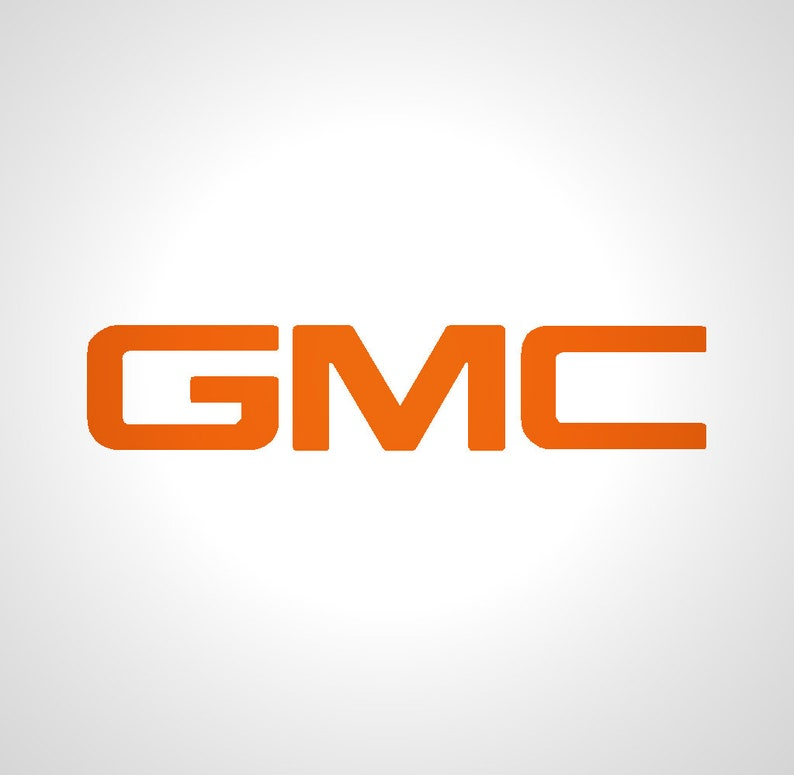 PRECUT Gel Coated (Domed), emblem overlay, compatible with GMC Sierra  2007-19+ emblem- No Trimming (Solid colors)