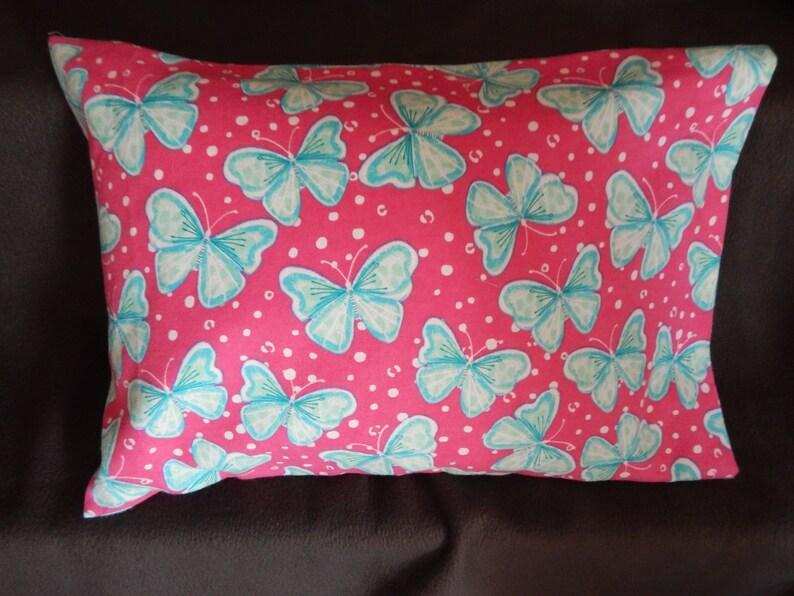 Butterfly  Flannel Colorful Pillow Case Newborn Pillow Case Toddler Pillow Case Children Pillow Case Kids Pillow CaseGirl/'s Pillowcase