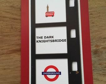 The Dark Knightsbridge Greetings Card