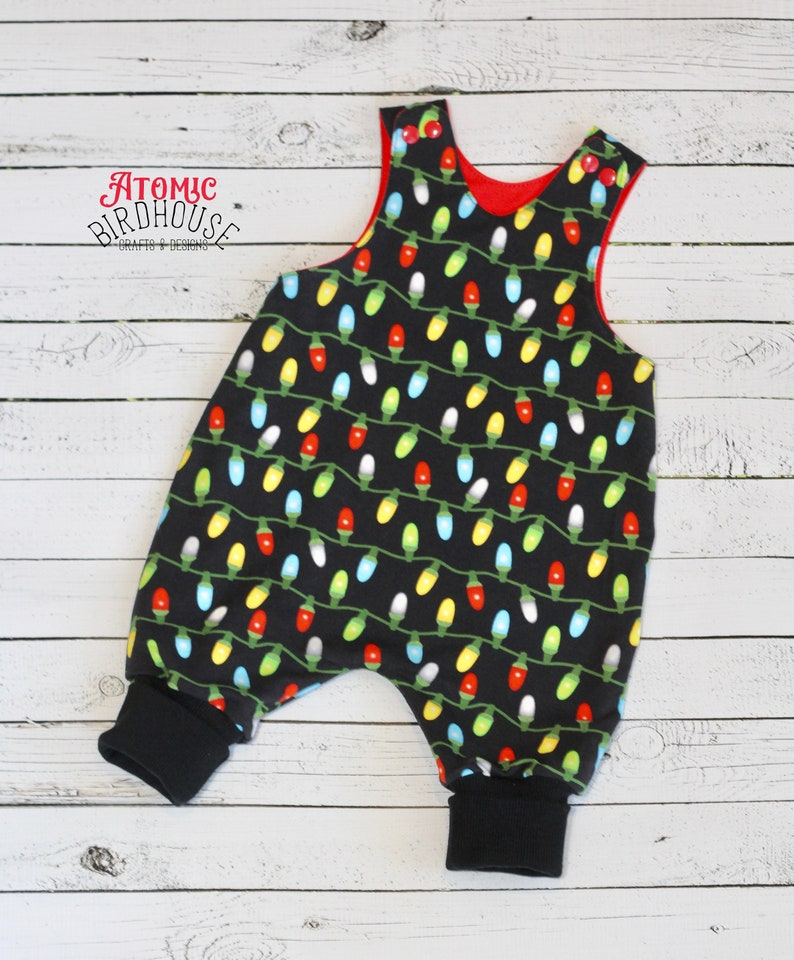 2a8be671bc1 Baby Christmas Lights Romper size 3-6 months Unisex Baby