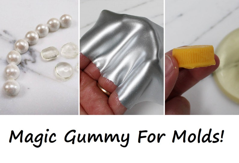 Magic Gummy For Molds recipe for Cake Decorating image 0