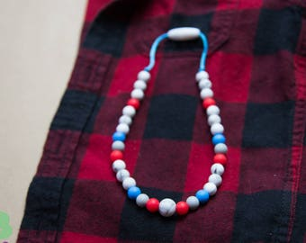 Teething necklace / Silicone / nursing / ADHD