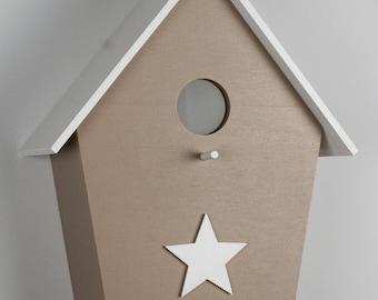 nursery lamp, children's lamp, birth gift, baby lamp, birdhouse lampchildren's light