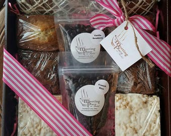 Mothers Day Gift Basket Gourmet Sweet Treats Coffee Thank You Birthday For Mom Her