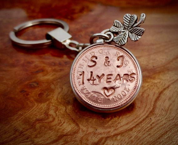 Gift Ideas For 14th Wedding Anniversary: 14th Lucky Penny Wedding Anniversary Gift 2004 Penny