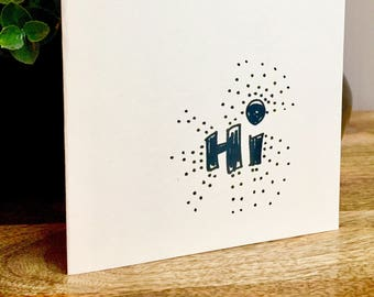 5X7 Hi Card