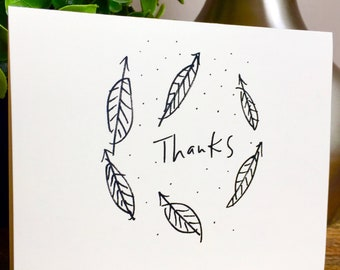 Nature Lover Thank You Card