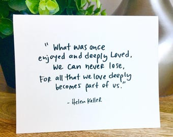 quote card set etsy