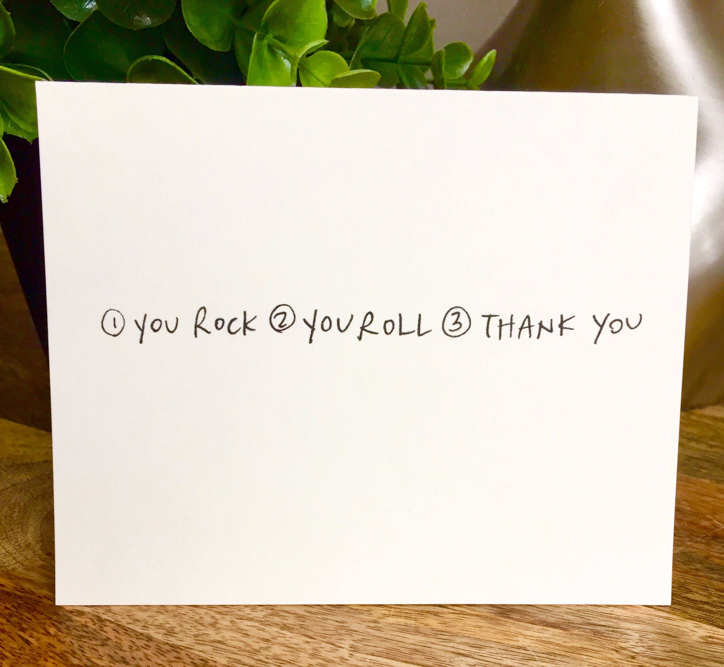 Set Of 10 Cards Thank You Card Set Unique Style Simple Thank You Card