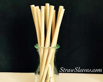 Bamboo Straw - smooth, no joints