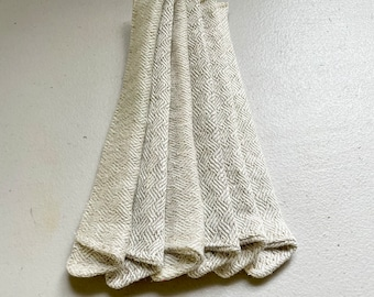 6 Bulk Priced Hemp Short Sleeves for short reusable straws