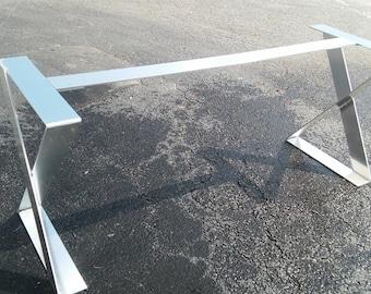 48 Hour Sale X Shape Aluminum Table Legs Desk Legs Or Etsy
