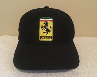 0a1a8376c7f Ferrari F1 Formula One Racing Vintage 90 s 1997 Adult Mens Baseball Hat Cap