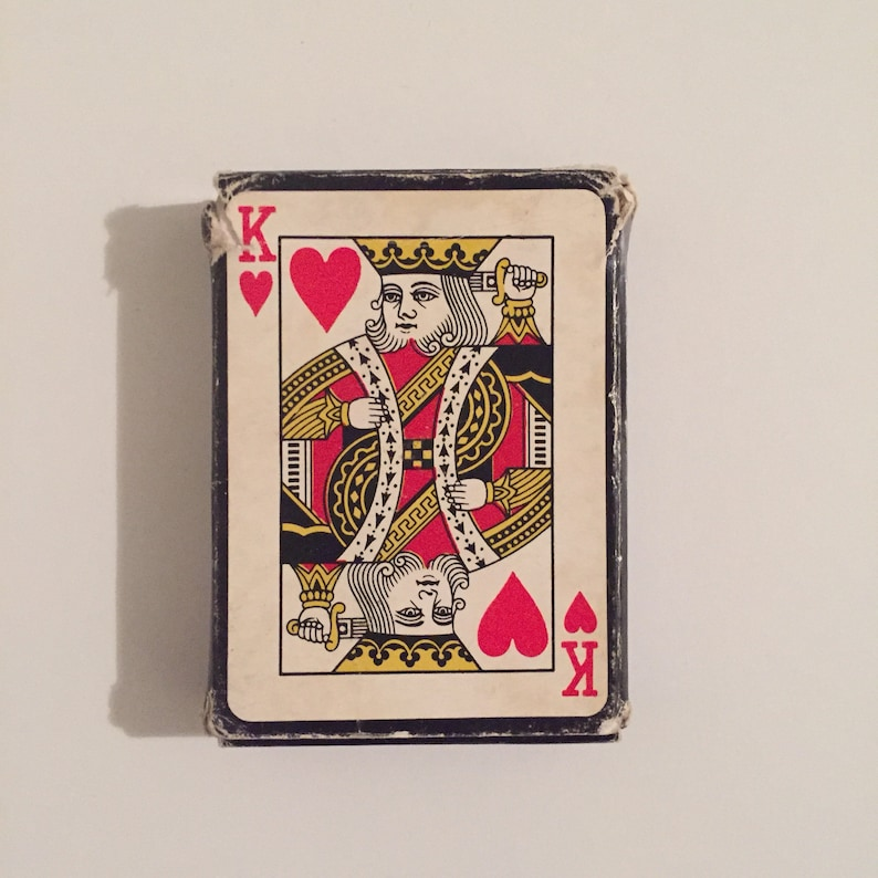 Fido Dido Vintage 1980s Plastic Coated Playing Cards 1985