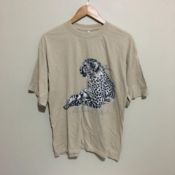 Shadow Leopard See It Sense it Save It Vintage 90'