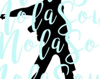 svg - Floss dance boy flossing