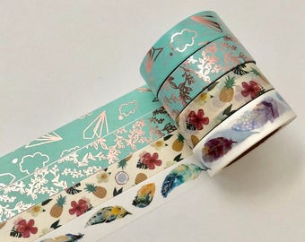 Assorted washi tape - 15mmx10m - 1 roll