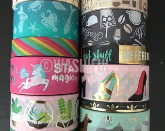"18""/24"" SAMPLES of Recollections assorted washi tape (M228)"