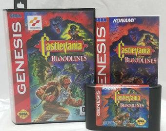 castlevania bloodlines enhanced colors rom