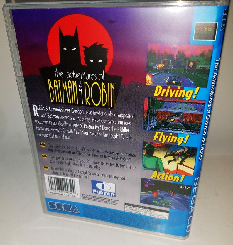Adventures of Batman and Robin Sega CD