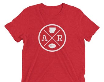 "Arkansas ""AR"" Football Crossroads T-Shirt"