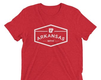 Arkansas Native Vintage Triblend Short Sleeve T-Shirt