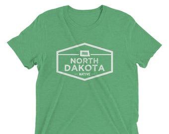 North Dakota Native Vintage T-Shirt
