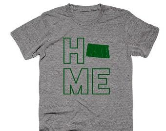 North Dakota Home Triblend Super-Soft T-Shirt