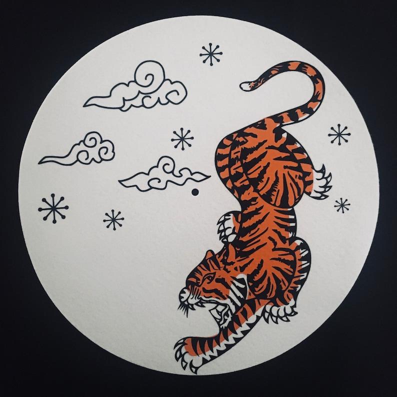 TIGER 12 Turntable Slipmat 16oz