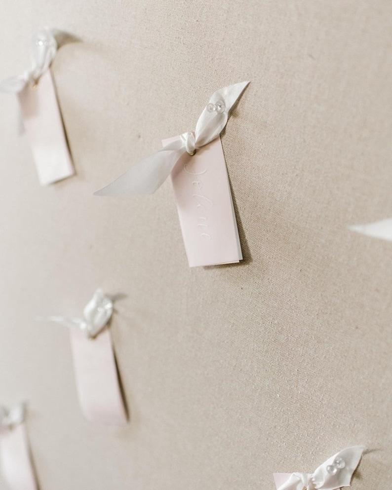 Escort Cards Wedding Flat Lay Modern Calligraphy Place Cards Wedding Calligraphy Place Cards with Eyelet Special Events