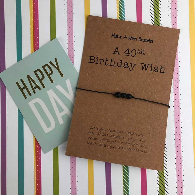 40th Birthday Card Gift Mens