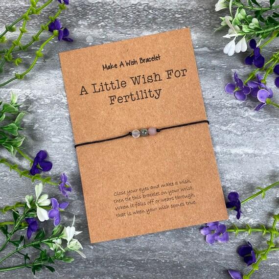 Fertility Bracelet, Crystal Bracelet, Fertility Wish Bracelet, Fertility, Fertility Jewelry, Fertility Bracelet For Women, Fertility Gift