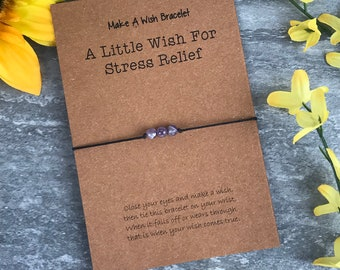 Amethyst, Crystal Bracelet, Healing Crystals, Healing Braclet, Wish Bracelet, Crystal Gifts, Amethyst Bracelet, Love Bracelet