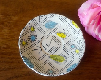 Retro Broadhurst Kathy Winkle Tyne Hand Painted Saucer Replacement Collectors Piece