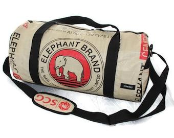 Weekender Hand Luggage Recycled Bag Sports Bag 50 x 26 cm Yoga Bag Zumba Gym Dufflebag Dufflebag Bag Eco Australia