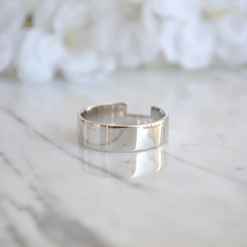 Mens Ring Silver Men Ring Silver Band Silver Ring Mens Wedding Ring Mens Ring Mens Wedding Band